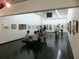 「ロータリークラブ展」に大竹五洋日本画教室も協力参加(写真は2013年度)